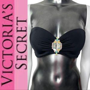 Victoria's Secret Swimwear Strapless Bikini Top
